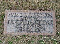 Mamie A <I>Dickinson</I> Jordan