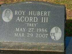 Roy Hubert Acord, III