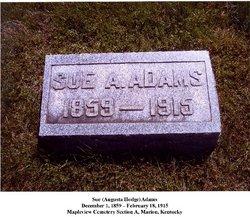 Sue Augusta <I>Hodge</I> Adams