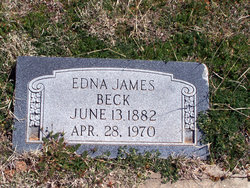 Edna James <I>Munson</I> Beck