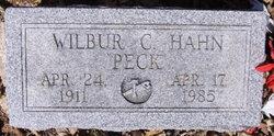 Wilbur C. (Peck) Hahn