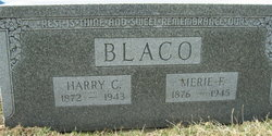 Merie F <I>Johnson</I> Blaco