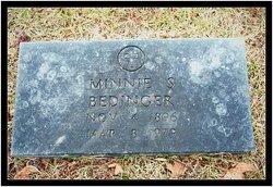 Minnie <I>Krieble</I> Bedinger