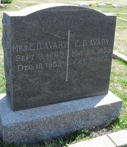 Elias Downs Avary