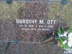 Dorothy M <I>Franson</I> Ott