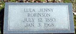 Lula Jenny <I>Hardin</I> Robinson