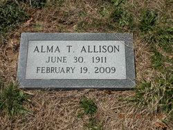 Alma <I>Thomas</I> Allison