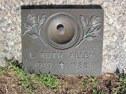 L Ruth Allen