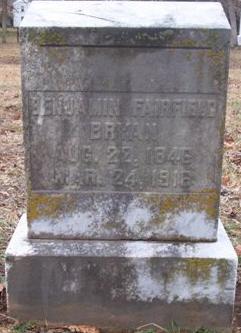 Benjamin Fairfield Bryan