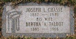 Bertha A. <I>Talbot</I> Chasse