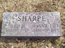 Fannie <I>Taft</I> Sharpe