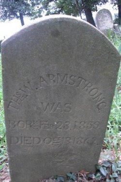 Thomas W Armstrong