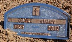 """Norma Gayle """"Gayle"""" <I>Avary</I> Avary"""