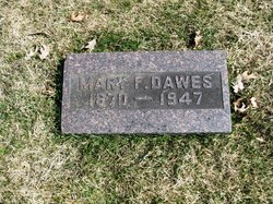 Mary Frances <I>Johnson</I> Dawes
