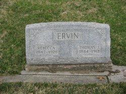 Nancy Rebecca <I>Melvin</I> Ervin