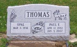Paul E Thomas