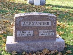 Ada Vera <I>Aleshire</I> Alexander