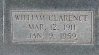 William Clarence  Sylvester Glover