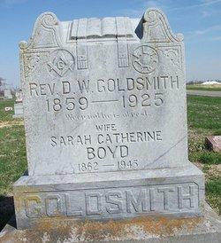Sarah Catherine <I>Boyd</I> Goldsmith