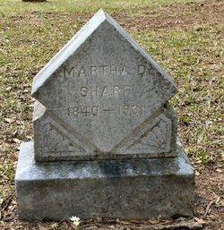 Martha <I>Davis</I> Sharp