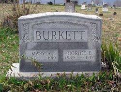 Mary A. <I>Dovel</I> Burkett