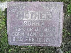Sophia <I>Warnau</I> Laun