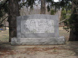 Clear Spring Friends Cemetery