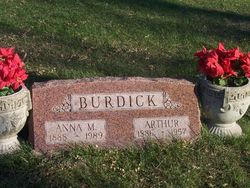 Anna Mary <I>Eighner</I> Burdick