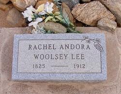 Rachel Andora <I>Woolsey</I> Lee