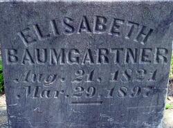 Elisabeth <I>Yunker</I> Baumgartner