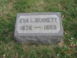 Eva L. <I>Hancock</I> Bennett