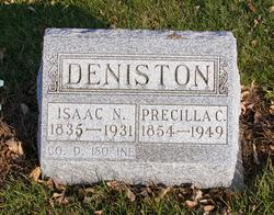Priscilla Catherine <I>Miller</I> Deniston