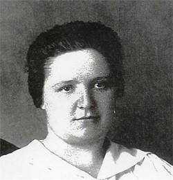 Mrs Anna Eliza <I>Babb</I> Wahlfeldt