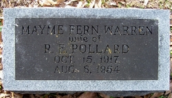 Mayme Fern <I>Warren</I> Pollard