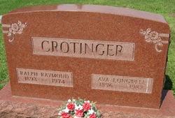 Ava <I>Longwell</I> Crotinger