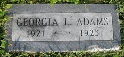 Georgia L Adams