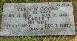 Vern W Coons