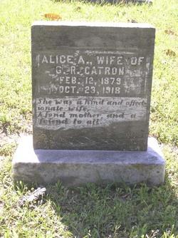 Alice A. <I>Wright</I> Catron