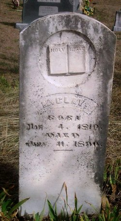 Mastin Family buried in the Princeton Cemetery