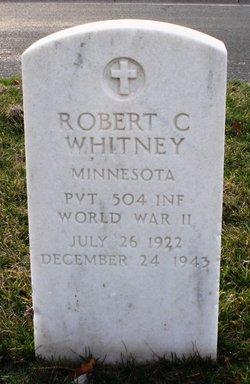 Pvt Robert C Whitney