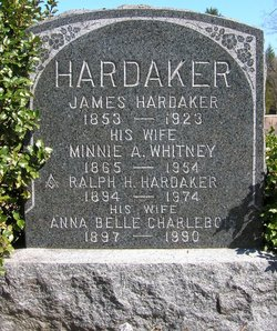 Minnie A <I>Hardaker</I> Whitney