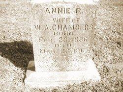 Annie Ruth <I>Rhyne</I> Chambers