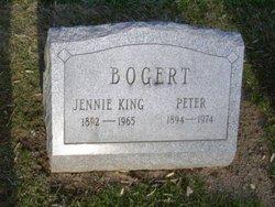Jennie <I>King</I> Bogert