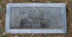 Leona Myrtle <I>Hall</I> Dunn