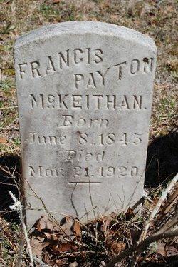 Francis Payton McKeithan