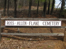 Ross-Allen-Flake Cemetery