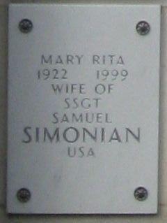 Mary Rita Simonian