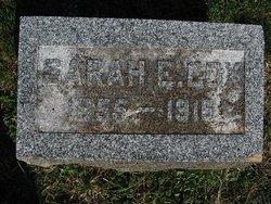 Sarah Elizabeth <I>Dennis</I> Cox