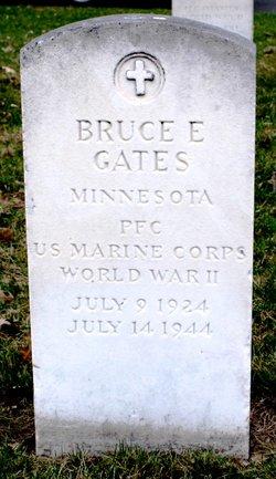 PFC Bruce Edward Gates