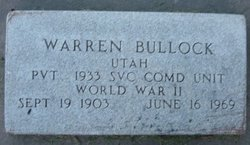 Earl Warren Bullock